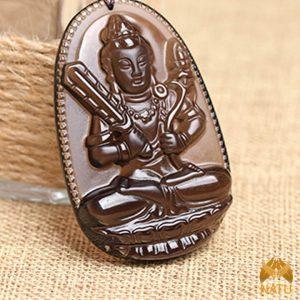 Mặt đá phong thủy Hư Không Tạng Bồ Tát – Phật Bản Mệnh Tuổi Sửu, Dần