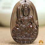 Mặt đá phong thủy Văn Thù Bồ Tát – Tuổi Mão