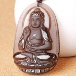 Phật bản mệnh A Di Đà đá phong thủy - tuổi Tuất, Hợi